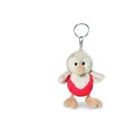 钥匙扣 知更鸟钥匙扣 可爱毛绒公仔包包挂件儿童玩偶玩具