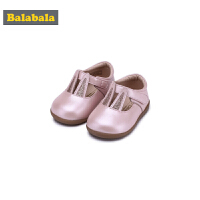 巴拉巴拉童鞋女童单鞋公主鞋2018新款秋季小童儿童皮鞋羊皮鞋子女