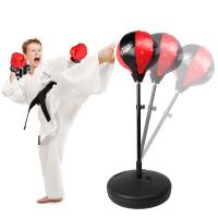 健身运动玩具儿童拳击手套沙袋套装立式不倒翁训练器材