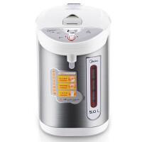 Midea/美的 PD105-50G电热水瓶大容量家用保温5L全自动304不锈钢