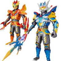 铠甲神龙勇士变形组装拼装4机器人偶奥特曼超人3-5-6-8岁男孩玩具