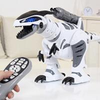 会唱歌跳舞的智能机械战龙霸王龙儿童电动恐龙玩具会走路遥控
