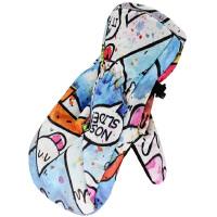 儿童滑雪手套 男女童小童防风防水加厚保暖骑行护具手套N4889