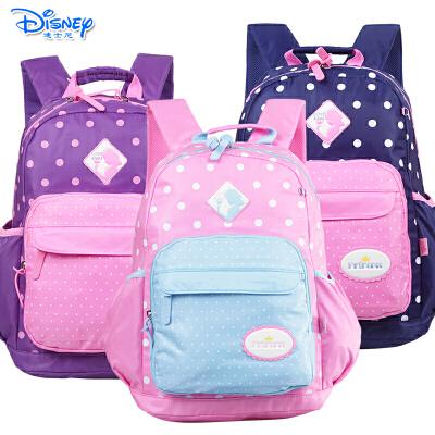 Disney/迪士尼 白雪公主女童小学生3-6年级双肩休闲书包PL0177