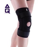 AQ十字韧带损伤 圆形硅胶垫片四支弹簧条超强稳定护膝5055