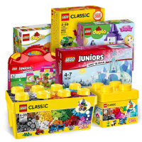 启蒙积木儿童玩具大小颗粒女孩1-2-3-6周岁男孩子组装拼装10698