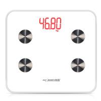 脂肪蓝牙秤智能健康秤通用电子体重秤 高端 黑色 300*275mm
