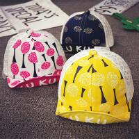 儿童鸭舌帽夏季网帽男宝宝帽子1-2岁薄款遮阳帽女童棒球帽韩版潮