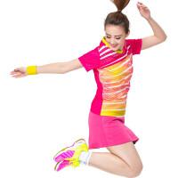 羽毛球服女款套装运动服男款短袖速干夏季比赛服 X