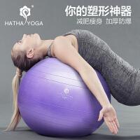 哈他65cm瑜伽球 加厚防爆正品 健身瑜珈儿童平衡运动 女减肥孕妇分娩瘦身