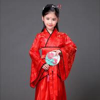 儿童古装公主贵妃汉服女孩影楼表演写真舞蹈演出仙女裙