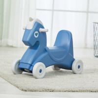 儿童摇马带音乐多功能两用宝宝1-3-6岁礼物婴幼儿园木马塑料玩具