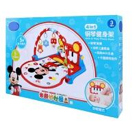 婴幼儿早教玩具脚踏钢琴健身架五彩灯光音效婴儿玩具健身器音乐游戏毯音乐多功能礼物