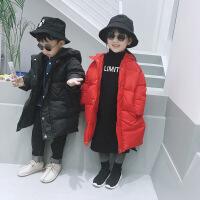男童女童长款幼儿冬装外套宝宝棉衣加厚保暖韩版男宝女宝棉袄
