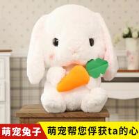 兔子毛绒玩具公仔女生可爱萌超大号小号垂耳兔韩国迷你创意个性