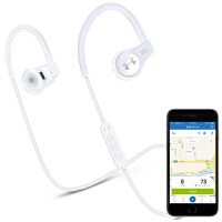 JBL Under Armour 智能心率监测 专业运动无线蓝牙耳机 入耳式耳机 手机线控耳机 白色/黑色