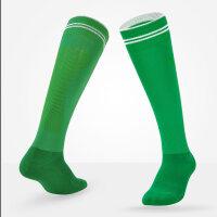 足球袜长筒袜男儿童比赛训练运动袜过膝长筒纯棉加厚毛巾底足球袜