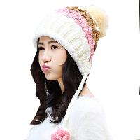 慈颜CIYAN可爱秋冬月子帽孕妇帽女士加绒帽女士护耳帽冬季帽子YQX007