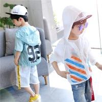 左西童装男童防晒衣儿童外套薄款透气韩版夏季服中大童2021新款潮