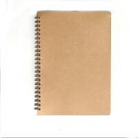 叶品 B5牛皮卡面线圈本(侧翻80页)螺旋本 学生笔记 练习本子 记事本 可撕便签本子 1670 当当自营