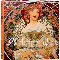 【英文版】Alphonse Mucha Masterworks 12开大版面 阿尔丰斯穆夏代表作