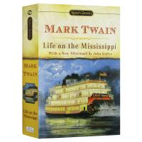 密西西比河上的生活 英文版原版小说 Life on the Mississippi 英文原版 英文名著 正版进口英语书