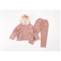 童装女童秋装套装中大童时尚灯芯绒两件套9-10岁儿童秋季衣服