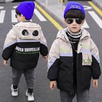 男童儿童冬装中大童羽绒棉衣外套冬季