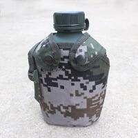 07军迷彩军训水壶10式1L户外旅行大容量水壶