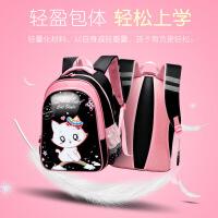 小学生镜面防水书包女孩1-3- 4-5年级卡通儿童背包6-12周岁双肩包