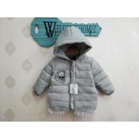 冬季女童女宝宝加棉外套 女童可爱保暖棉衣外套