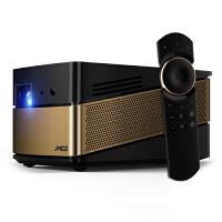 JMGO坚果V8投影仪 家用高清1080p投影机办公微型智能3D无线wifi便携式无屏电视 坚果V8