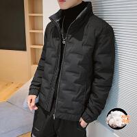 2019新款男士冬季羽绒服男韩版潮流保暖休闲短款外套薄款冬装外套