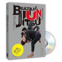正版武术教学dvd巴西柔术基础入门防身自卫格斗训练视频DVD+书