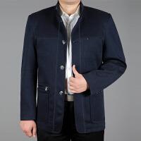 中老年男装夹克男爸爸装外套春秋款新款男士风衣薄款父外套