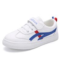 儿童小白鞋春季潮板鞋休闲中大童运动鞋
