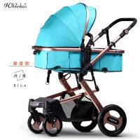 739A高景观婴儿手推车可坐躺四轮避震折叠双向bb宝宝儿童婴儿车