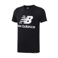 New Balance/NB 男装 2018新款运动休闲圆领短袖T恤 AMT83530BK
