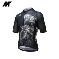 骑行服男夏季短袖公路车上衣 追影 后背菱形网布增强透气