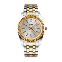 户外运动男士潮流时尚商务手表防水石英机男表水钻钢带个性腕表