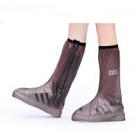 高筒防雨鞋套防水雨天儿童防雨鞋套防滑加厚耐磨户外鞋套