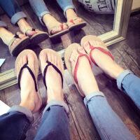 情侣海边沙滩鞋亚麻人字拖鞋男女潮流夏天休闲百搭韩版凉拖鞋