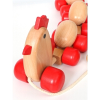 宝宝拉绳玩具10个月婴儿拖拉学步车儿童拉线玩具车