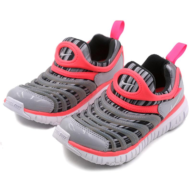 耐克(Nike)毛毛虫童鞋中大童儿童鞋 舒适运动休闲鞋 834365-002 灰色注意:清仓产品,鞋盒存在破损