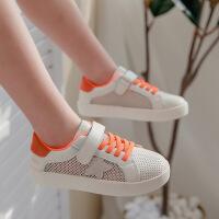 儿童2020夏季女童运动鞋男童网面