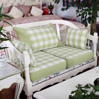 红木沙发靠背坐垫套海绵硬沙发垫实木布艺沙发垫子欧式定做T