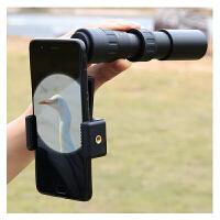 变倍单筒望远镜高倍高清夜视体非红外透视手机伸缩式