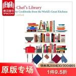 【预订】The Chef's Library:大厨的图书馆 英文原版图书