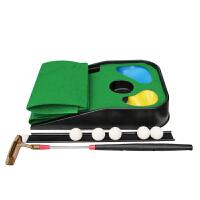儿童高尔夫球玩具套装家用练习垫球杆室内户外亲子运动