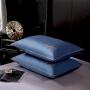 伊迪梦家纺 全棉单品枕套纯色60支高支高密贴身舒适纯棉48*74cm简约时尚标准单人枕芯套LK631